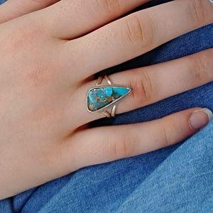 Jewelry - Arizona Blue Copper Turquoise Ring